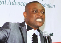 Lawyer Maurice Ampaw