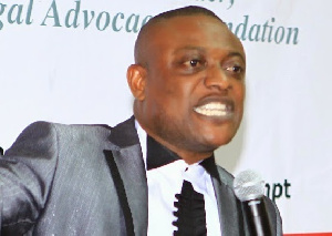 Lawyer Dr Maurice Ampaw