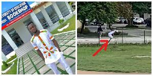 Majeed Backflip