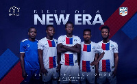 Players of Liberty Professionals  in their new kit