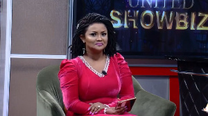 Nana Ama McBrown is the host of United Showbiz