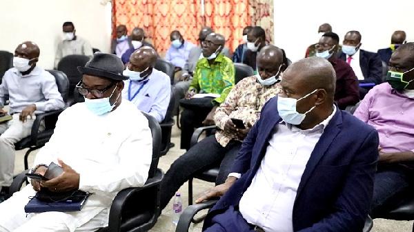 Parliamentary Select Committee visits Port of Takoradi