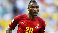 Kwadwo Asamoah is believed to have picked up an injury while playing for Inter Milan