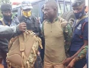 Isaac Owusu Suspect