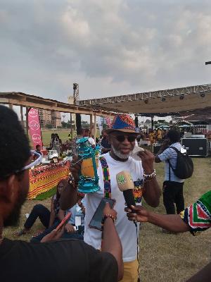 Yofi Grant At Taste Of Ghana 2020 .jpeg