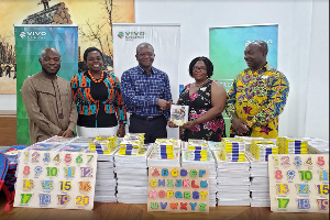 Vivo Energy Ghana donates books to support GES initiative 'My First Day at School'
