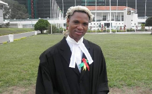 Lawyer Francis Xavier Sosu was banned for advertising his name and number on Facebook.