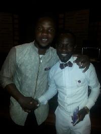 Don Itchi with Okyeame Kwame