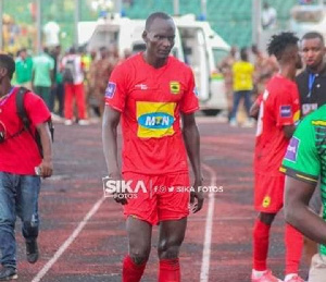 Abege is yet to score for Kotoko since joining in July this year