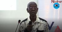 Former Electoral Commission Chairman, Dr Kwadwo Afari-Gyan