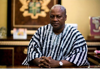 President of Ghana, John Dramani Mahama hopes to be re-elected to serve a second term as president.