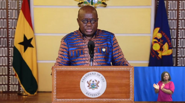 LIVESTREAMING: Akufo-Addo's 13th address to the nation on measures to fight coronavirus
