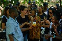 Cocoa tour at Ohene cocoa farm in Ghana