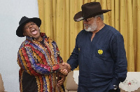 The former President complimented the soukous dancer