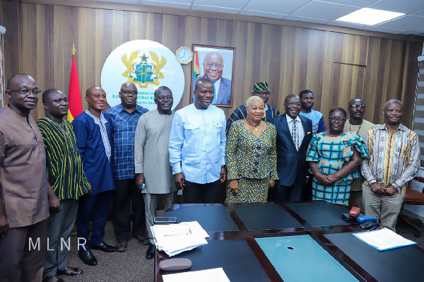 National Planning Committee for 2022 Green Ghana Project Inaugurated