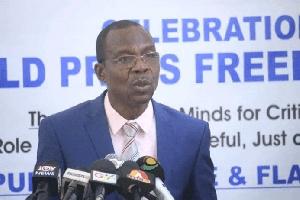 President of the Ghana Journalists Association (GJA), Roland Affail Monney