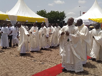 Ghana Catholic Bishops' Conference climaxed the Centenary celebrations of Cardinal Dery