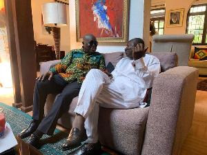 President of Ghana, Nana Addo Dankwa Akufo-Addo and Finance Minister, Ken Ofori-Atta