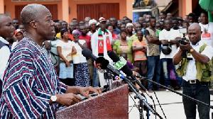 Amissah Arthur Obuasi Addressing