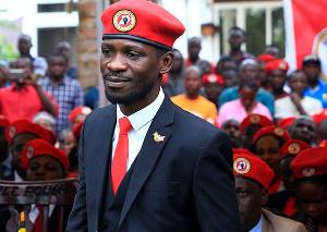 National Unity Platform Presidential aspirant,  Robert Kyagulanyi