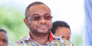 MP for South Tongu, Kobina Mensah Woyome