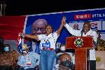 Vote 'boom boom' for Lydia Alhassan - Akufo-Addo shakes Ayawaso West Wuogon