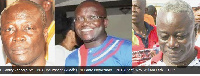 Nii Lantey Vanderpuye — NDC, incumbent, (M) : Nii Lante Bannerman — NPP, (R): Rev. William - PPP
