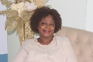 Dr. Akua Sarpong-Ayisa, CEO of Unique Floral Center