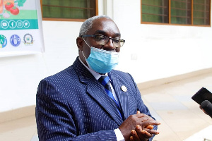 Director-General of the National Development Planning Commission, Dr. Kodjo Essien Mensah-Abrampa