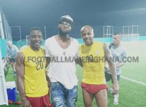 Former Ghana striker, Baba Adamu Armando