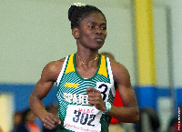 former Youth Olympics gold medalist, Martha Bissah