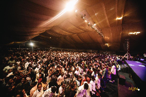 The said church event was held on Friday, April 30, at the Fantasy Dome