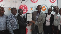 The ISO certification was awarded by SGS Ghana