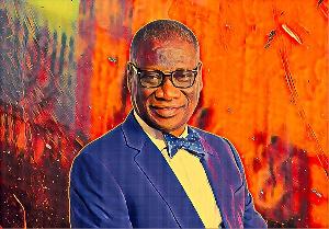 KK Sarpong is Chield Executive of the Ghana National Petroleum Corporation