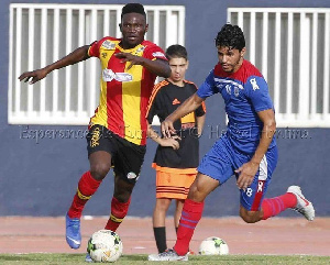 Bonsu hopes to win the CAF Champions  League and play the club World Cup