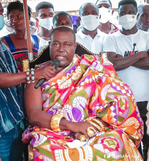 Daasebre Okogyeaman Duodu Ampem III, Nsawkaw Chief