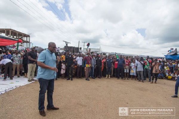 EC exhibition exercise: Go and verify your names – Mahama