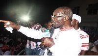 Papa Kwesi Nduom  Progressive People's Party (PPP) flag bearer.