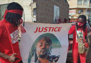 Some aggrieved relatives of murdered musician Benjamin Okyere