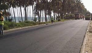 File photo of the Cape Coast - Accra road