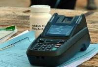 File photo of a biometric verification devices