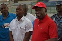 Asantehene Otumfuo Osei Tutu II wears red t-shirt in support of Kotoko