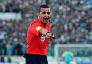 Jiyed Redouane has been a CAF and FIFA referee since 2009
