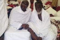 Dr Bawumia with National Chief Imam during last year's pilgrimage
