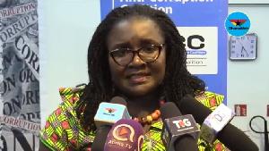 Executive Director of the Ghana Integrity Initiative (GII), Linda Ofori Kwafo