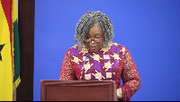 Minister of Foreign Affairs and Regional Integration, Shirley Ayorkor Botchwey