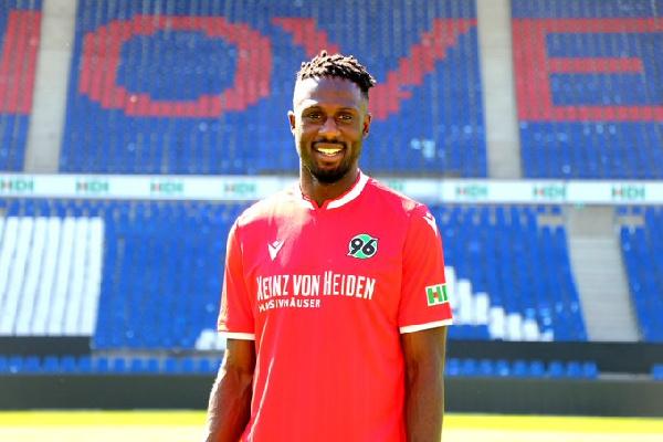 Ghanaian winger Kingsley Schindler delighted to rejoin Hannover 96