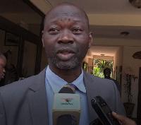 Member of Parliament (MP) for Dafiama-Bussie-Issa, Dr. Sebastian Sandaare