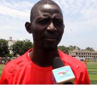 Coach and owner of Bolga Socca Masters, Nicholas Ayidah Ayine