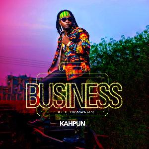 Official artwork for Kahpun's single 'Business'